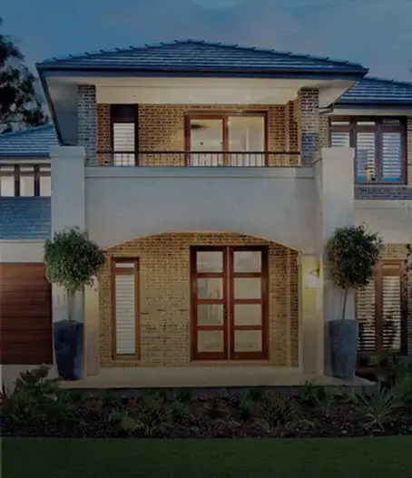 Front of Modern House
